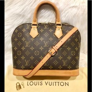 Authentic Louis Vuitton Alma Tote PM # 1.4P